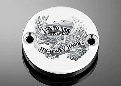 Highway Hawk HH-452-004 Master Cylinder Cover - Live To Ride