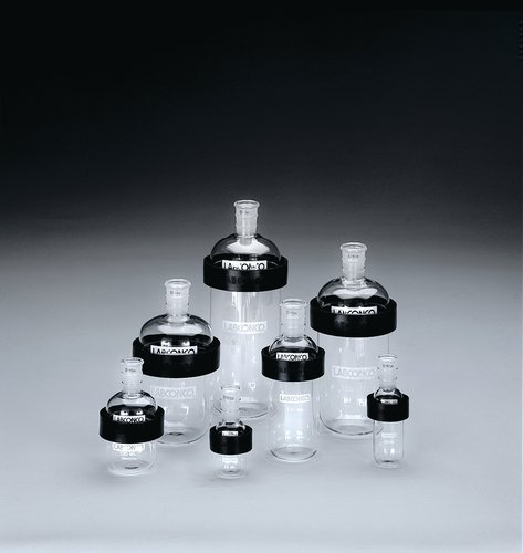 Labconco 7558000 Borosilicate Glass Lyph-Lock Flask Bottom, 1000ml ()