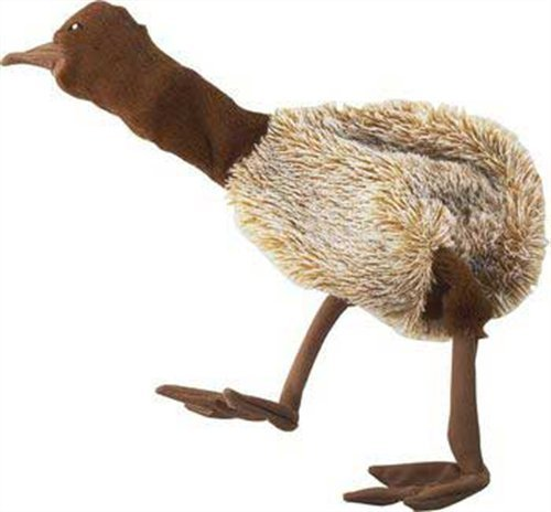 Ethical Mini Skinneeez Ostrich 12-1/2-Inch Stuffingless Dog Toy, My Pet Supplies