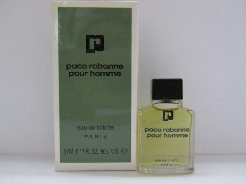 Paco Rabanne Pour Homme Men Cologne 0.17 oz EDT Mini ()