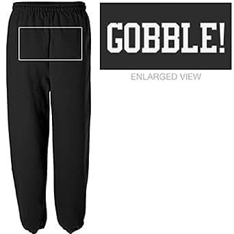 Gobble Sweatpants: Unisex Canvas Long Scrunch Sweatpants