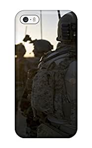 Fashion Tpu Case For Iphone 5/5s- Us Infantry Defender Case Cover