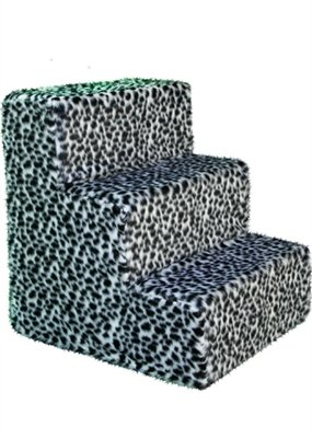 Pet Flys Shaggy Dalmatian Pet Steps by Pet Flys