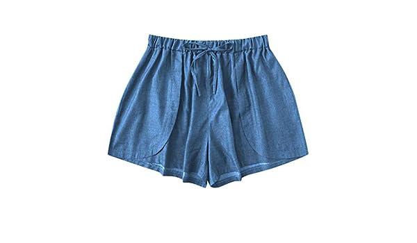 TianWlio - Pantalones Cortos de Verano para Mujer, Pantalones ...