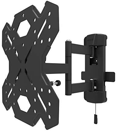 Kanto RV250G Full Motion TV Wall Mount Includes 2 Wallplates to Move TV Between Locations Galvanized to Prevent Rust Locking Arm for use on RVs and Boats Supports 26-42in TVs up to 40 lb
