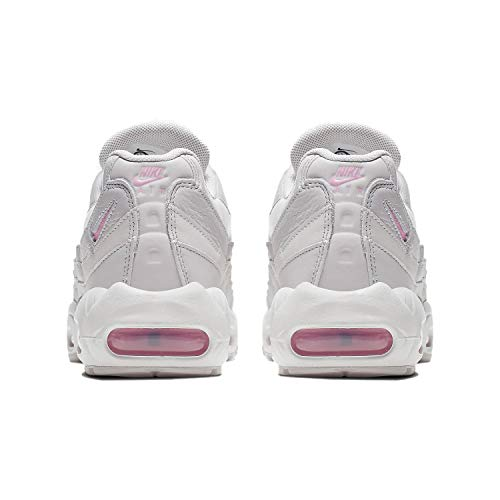 Details about Nike Air Max 95 SE Women's Shoes Vast Grey Psychic Pink AQ4138 002