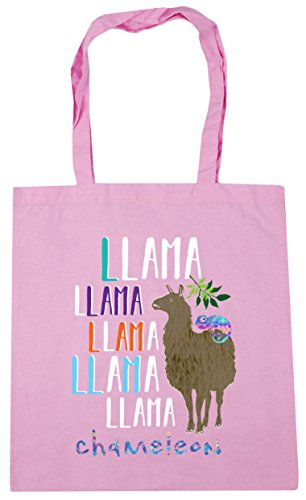 Llama Tote Bag Llama Beach HippoWarehouse Gym Llama Chameleon 42cm Llama 10 Shopping Pink Classic litres Llama x38cm TYwvdq