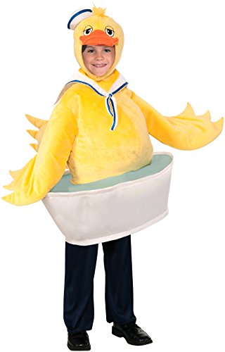 Rubber Ducky Boy Child Costumes (Forum Novelties Rubber Ducky Boy Costume, One Size)
