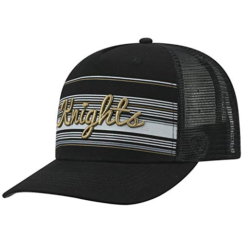 Florida Central Golf Gear - Top of the World Central Florida Knights Official NCAA Adjustable 2Iron Trucker Mesh Hat Cap 394374