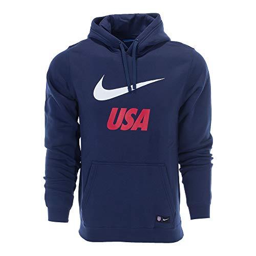 Nike 2018 USA Men's Pullover Hoodie (Midnight Navy 2XL/XXL)