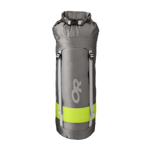 Outdoor Research Airpurge Dry Compression Sack, 35-Liter, Pewter, Outdoor Stuffs