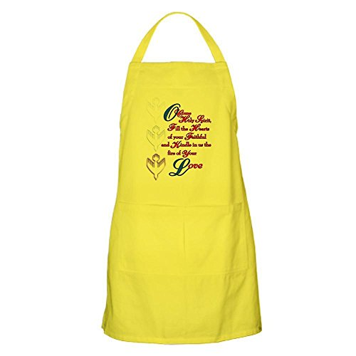 CafePress - O Come Holy Spirit Apron - Kitchen Apron with Pockets, Grilling Apron, Baking Apron by CafePress