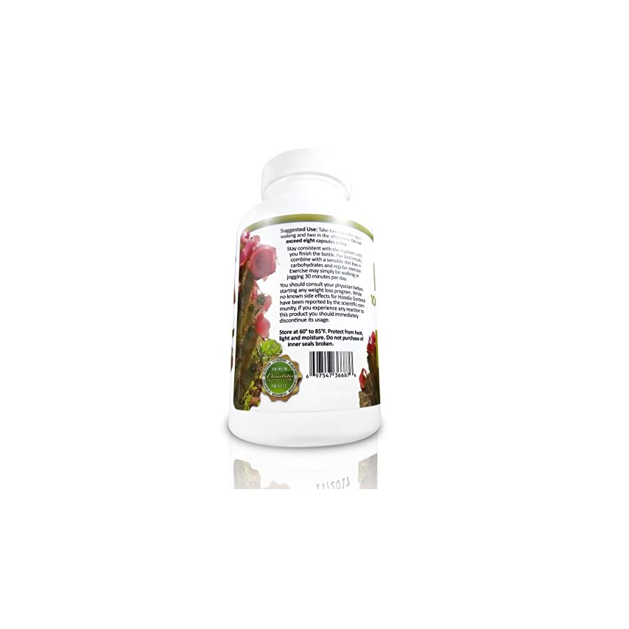 Hoodia Gordonii Natural Appetite Suppressant Pills. 20:1 Potency is 20X Stronger Than Raw Hoodia. Stimulant Free Unlike Most Diet Pills & Weight Loss Products. Suppress Appetite & Lose Weight