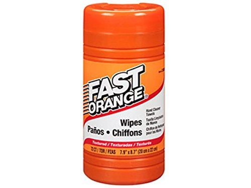 Permatex  25051 Fast Orange Hand Cleaner Wipe - 72 Count (1)