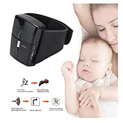 ERTYU Anti Snoring Wristband Smart Snore Stopper Watch Anti-Snoring Devices with Biofeedback Sensor Snore Silencer… Hot New [tag]