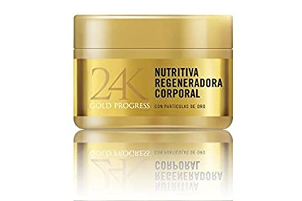 24K Gold Progress Nutritiva Regeneradora Corporal: Amazon.es ...