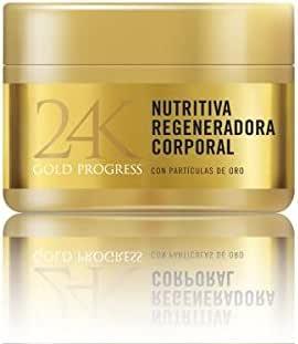 24K Gold Progress Nutritiva Regeneradora Corporal: Amazon.es: Belleza
