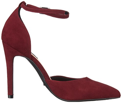 Pump Burgundy Strap Heels strap Women's Only burgundy Purple Ankle Onlchloe qUxHaPS