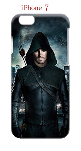 Laurel Lance Arrow Costume (iPhone 7 Case, The TV Series Arrow 08 Drop Protection Never Fade Anti Slip Scratchproof 3D Hard Plastic Case)