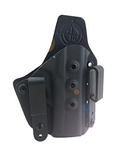 M&P Shield IWB Holster, Smith & Wesson Inside the waistband, Belt Hybrid holster