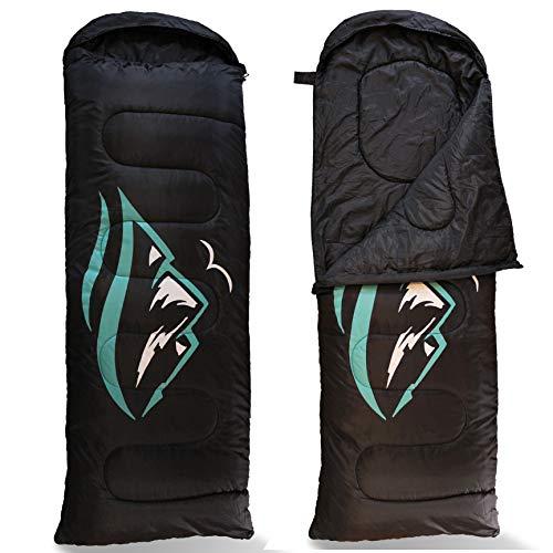 FE Active Sleeping bag with hood, extra long 90