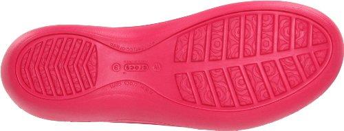 crocs Jayna - Zapatos con talón descubierto para mujer Rosso (Raspberry - DO NOT USE-USE 652)