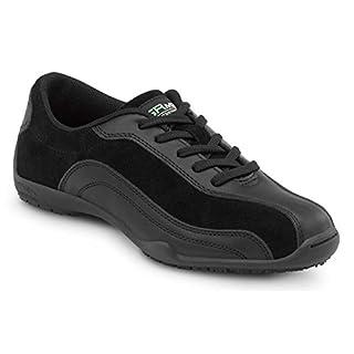 SR Max Malibu Women's Black Slip Resistant Sneaker - 7.5 M