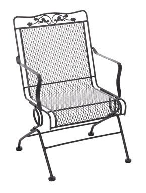 Meadowcraft Action Patio Chair Glenbrook 21.75
