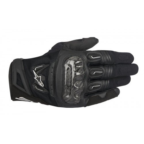 Alpinestars SMX-2 Air Carbon v2 Gloves (MEDIUM) (BLACK)
