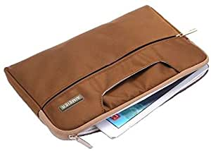 Apple Laptop Notebook Sleeve Carry Case Cover Bag 15 Inch Macbook Pro Air Retina Brown