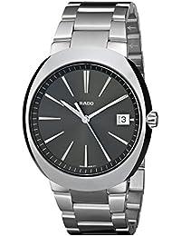 Mens R15943113 D Star Analog Display Swiss Quartz Silver Watch. Rado