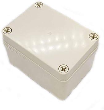 Caja de Terminales de La Caja Eléctrica Del Abs, Cajas de Conexiones Impermeables, para Proyectos Electrónicos, Unidades de Fuente de Alimentación, Caja de Controlador de Temperatura, Etc: Amazon.es: Bricolaje y herramientas