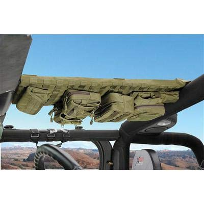 Smittybilt G.E.A.R Overhead Console Package, Coyote Tan - GEAROH2