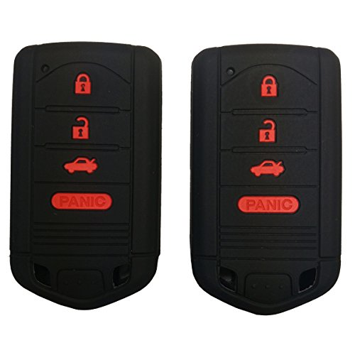 2pcs-coolbestda-silicone-smart-key-fob-cover-case-remote-skin-keyless-jacket-holder-protector-for-ac