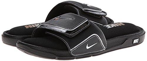 Nike Comfort Slide 2 Black White Mens Sandals Size 41 EU