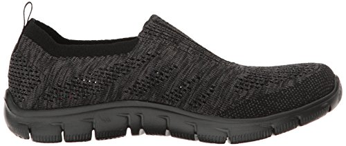 Skechers Sport Womens Empire Inside Look Fashion Sneaker Black/Charcoal KFkGq