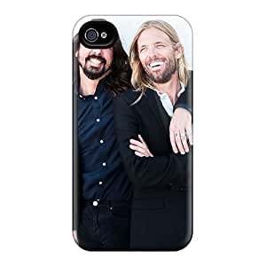 Shock Absorption Hard Phone Cover For Iphone 4/4s (Crt1582WJJM) Support Personal Customs Vivid Foo Fighters Band Skin