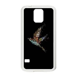 Samsung Galaxy S5 Cell Phone Case White songbird art OJ648413