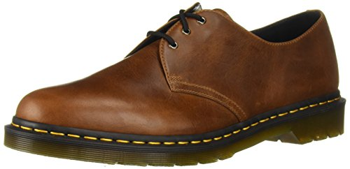- Dr. Martens Men's 1461 Butterscotch Oxford, 7 Medium UK (8 US)