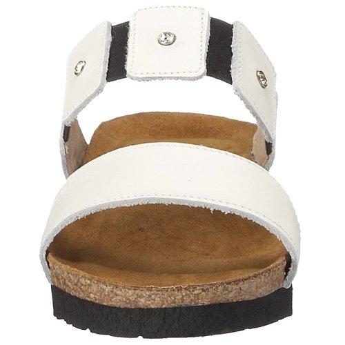Leather Sandal 5 Wedge US EU 36 White NAOT 5 Ashley Women 5 M pAX4f