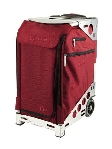 Zuca PRO-RUBY RED ON Silver W/TRAVEL COVER / 89055900380 by ZUCA