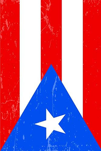 Puerto Rico Flag Journal: Blank lined Notebook to write in