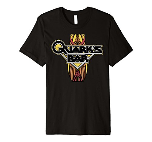 Star Trek DS9 Quark's Bar Vintage Logo Premium -