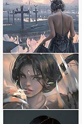 Ghost Blade WLOP libro de colecci/ón de dibujo ilustraci/ón personal