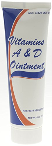 Medline MSC095094 Vitamin Ointment 4oz