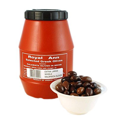 Whole Kalamata Olives Plastic Keg 2 kg nt wt ea ()