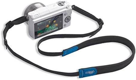 New Miggo Padded Camera Strap for miggo Grip /& Wrap Black Blue