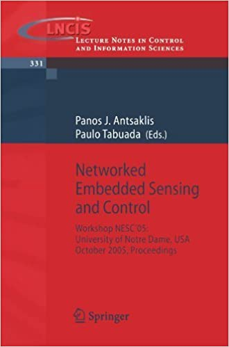 Book Networked Embedded Sensing and Control: Workshop NESC'05: University of Notre Dame, USA, October 2005 Proceedings (Lecture Notes in Control and Information Sciences) (2006-06-15)