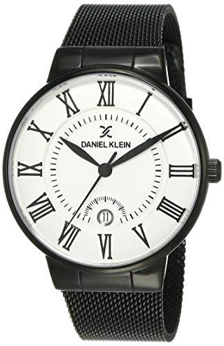 Daniel Klein Analog Silver Dial Men's Watch-DK12112-6