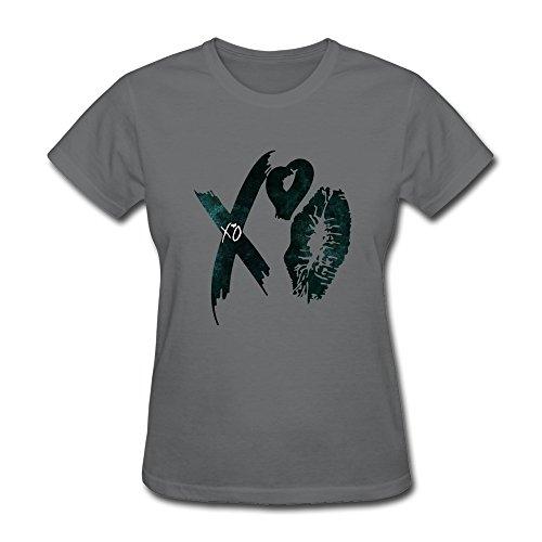 Handson Men's X Heart Singer Logo Tshirts Size XS DeepHeather
